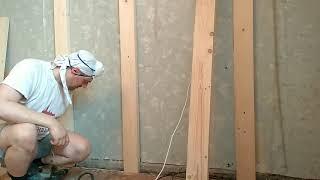 Быстро закрепить к кирпичной или бетонной стене деревянную балку(, 2017-07-16T21:30:24.000Z)