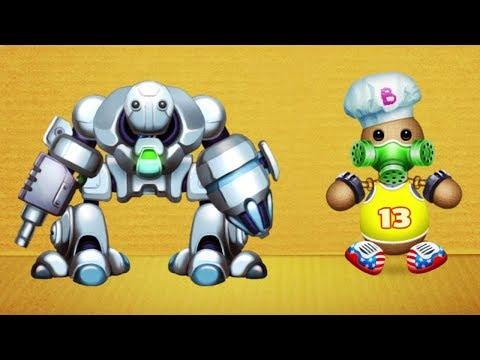 Was kann dieser ROBOTER ?? | Kick The Buddy