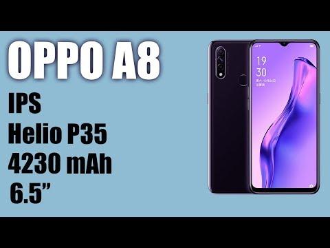 Обзор смартфона Oppo A8. IPS, 4230 мАh