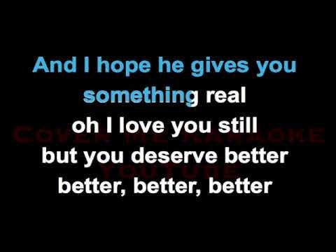 You Deserve Better - James Arthur | CoverMeKaraoke