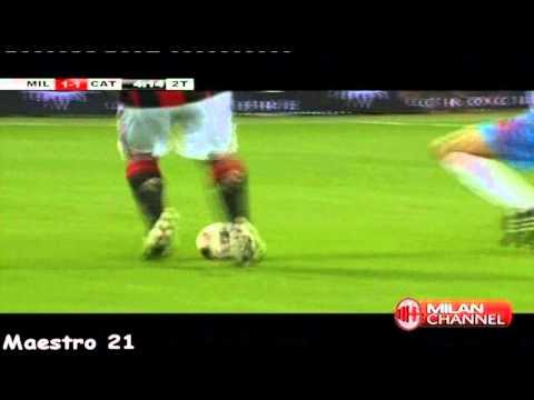 Ronaldinho Great Control vs. Catania - 18/09/2010