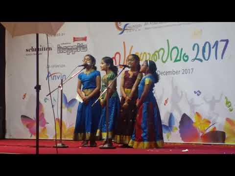 Vithumbum Kunju Manassilef Sargotsavam2017groupsong 3rdprize Winner