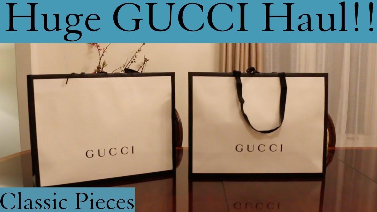 d7f289b0d7e7 Gucci Men's Shopping Spree!!! Gucci Haul Unboxing 2017 - HD -  Ultimateunboxing 2017