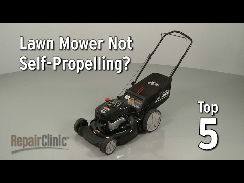 "Thumbnail for video ""Lawn Mower Not Self-Propelling? Lawn Mower Troubleshooting"""