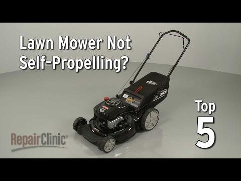 Top Reasons Lawn Mower Not Self-Propelling — Lawn Mower Troubleshooting