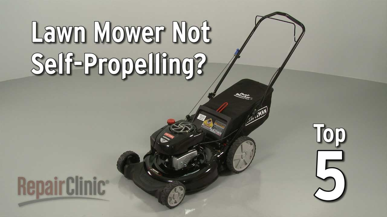 Top Reasons Lawn Mower Not Self Propelling Troubleshooting