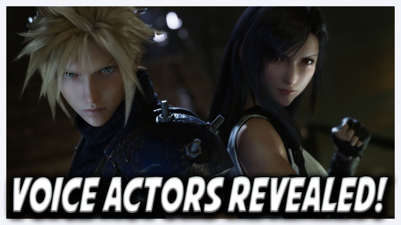 Voice Cast For Final Fantasy 7 Remake Revealed