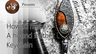 How to Make a $150 Designer Leather Keychain