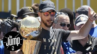 Steph Curry Had Most Fun At Warriors' Parade | The Jump | ESPN