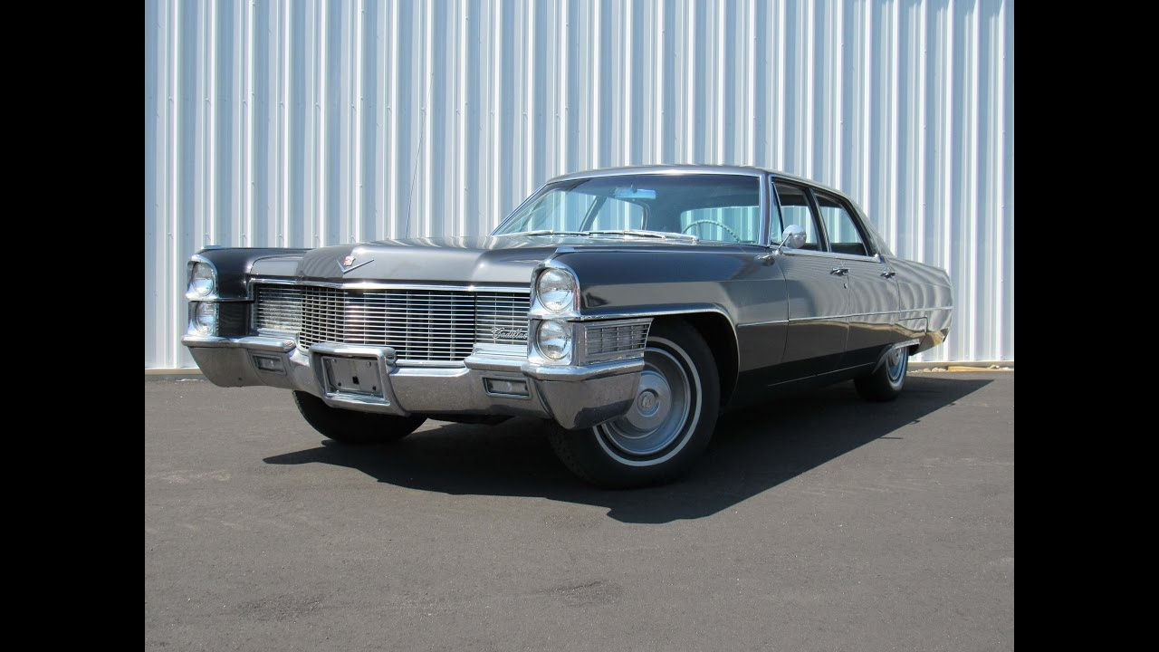 1965 Cadillac Sedan Deville For Sale Or Trade Motorland