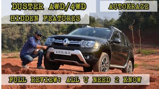 2018 NEW RENAULT DUSTER AWD FULL REVIEW|DACIA DUSTER 4WD FULL REVIEW FEATURES, TEST DRIVE|AUTOKRAZE