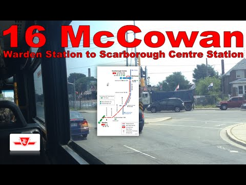 16 McCowan - TTC 2005 Orion VII 7847 (Warden Station to Scar
