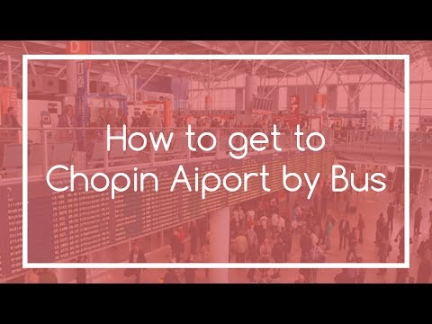 How to get to Chopin Airport by Bus