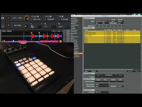 One Button Effects Buildup/Breakdown FX in Traktor