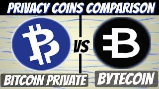 Bitcoin Private vs Bytecoin (Comparison Video)