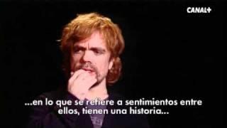 Entrevista a Peter Dinklage, Tyrion Lannister en la adaptación de