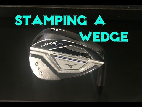 How to stamp a Wedge