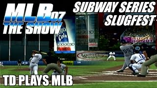 SUBWAY SERIES SLUGFEST - MLB 07: The Show PS2