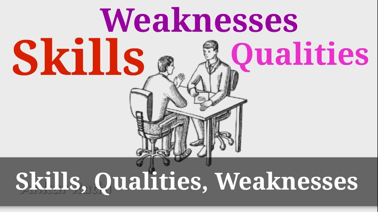 how to know your skills qualities and weaknesses in hindi