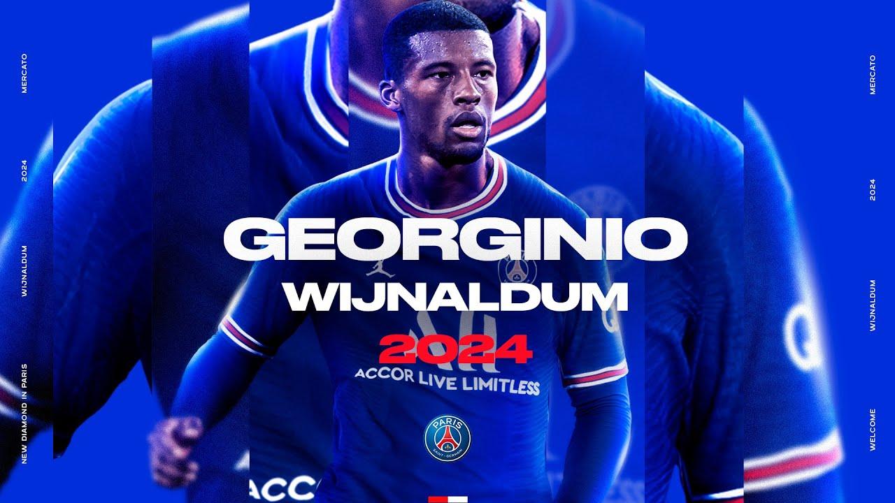 Download #WelcomeGini 🔴🔵 Wijnaldum's first interview
