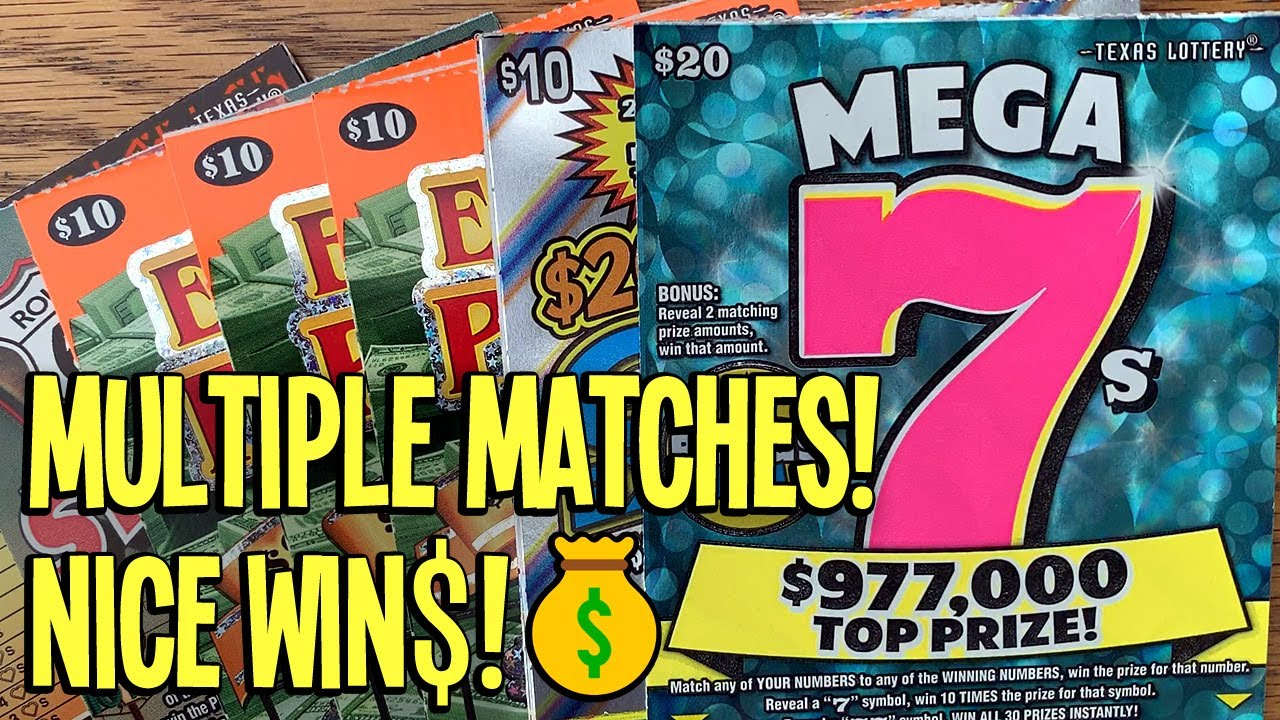 💰 WINS ACROSS THE BOARD! $110/TICKETS 💵 $20 Mega 7s + 3X Extreme Payout 💵 TX Lottery Scratch Offs