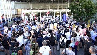 2018.8.14日本第一党・川崎ヘイト街宣へのカウンター