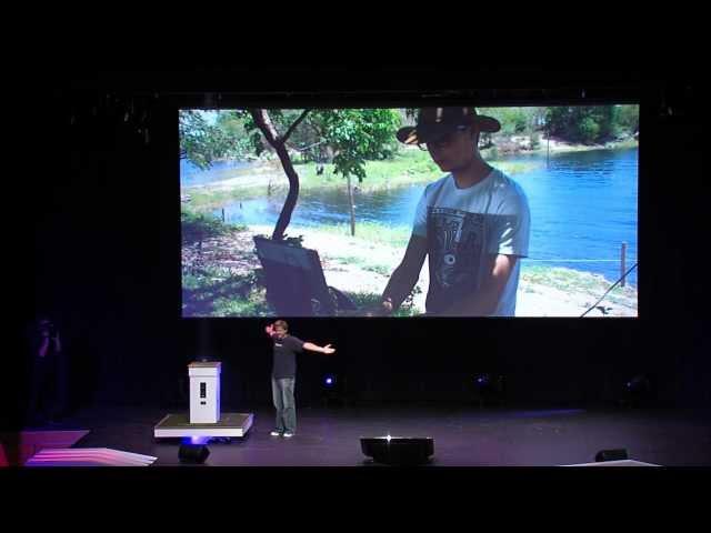 TedX lezing: I am a tinkerer