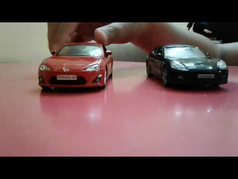 TOYOTA 86 VS PORSCHE PANAMA TURBO(IN TOYS)