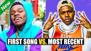 Rappers FIRST SONGS vs SONG THAT BLEW THEM UP vs MOST RECENT SONG 2019