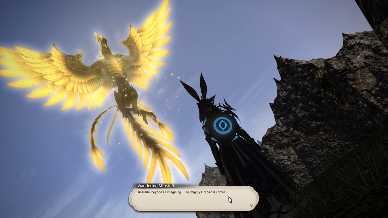 FFXIV Gathering All 7 Flying Mount!! by SangMin Park