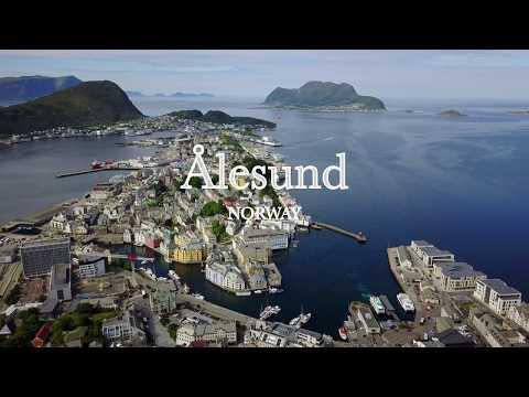 ÅLESUND Norway | 4K Drone