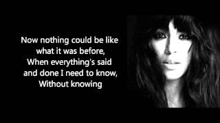 Loreen - Do We Even Matter. HQ + Lyrics (Heal Album CD rip)