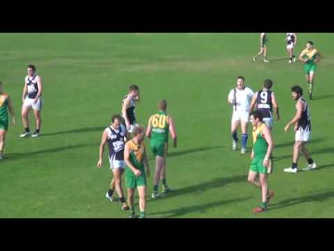 WRFL 2015 SEN DIV1 RD4 Spotswood vs Hoppers Crossing 1st Half.mp4