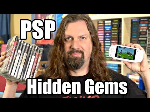 Sony PSP HIDDEN GEMS Games - 10 Awesome Games For The Playstation Portable!