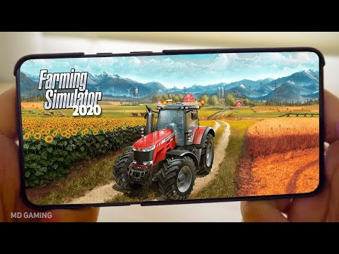 🔥TOP 6🔥Realistic Farming Simulator Games For Android & IOS 2020 | Offline Simulator Games【MD】
