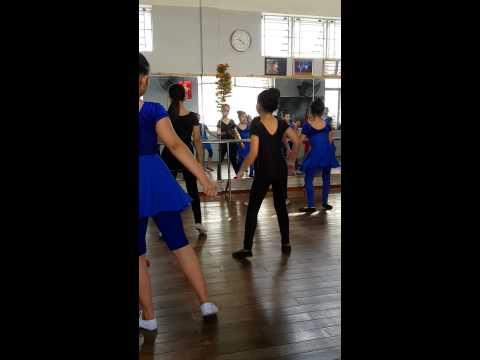 Lớp học múa clb Si Si nhà thiếu nhi Gò Vấp