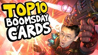 TRUMP'S TOP 10 BOOMSDAY PROJECT CARDS | The Boomsday Project | Hearthstone