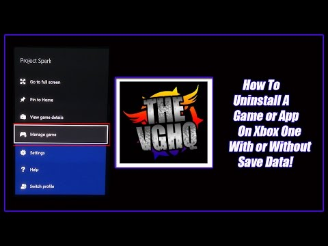Xbox One - How to Uninstall a Game or App Without Affecting Save Data [How  to/Tips & Tricks]