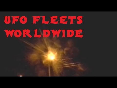 JAW DROPPING Clear UFO Fleets Worldwide, Something is going on!!!