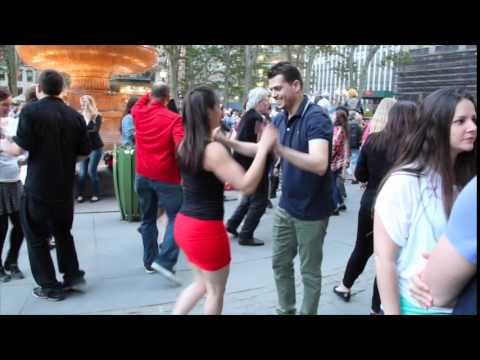 Cuban Salsa in Bryant Park, New York