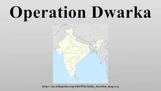 Operation Dwarka