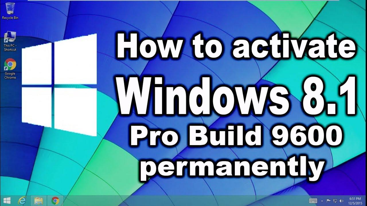 serial number windows 8.1 pro build 9600 32 bit
