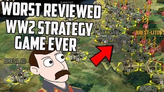 I Played The Worst Reviewed WW2 Strategy Game Ever On Steam