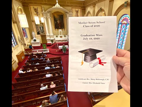 Mother Seton School Class of 2020 Graduation by Michele Corr