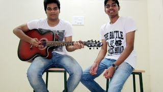 Soniye Heartless (reprise) acoustic guitar cover by Shubhakanta & Y.V.Asish