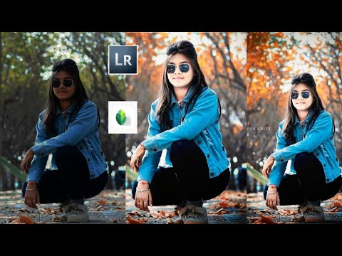 Lightroom cc__ &__ Snapseed__   colorful__ DSLR  Photo editing Toutoral 2019   ||SK EDITZ||