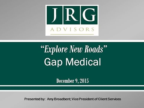 JRG Webinar Replay - Gap Insurance - 12-09-15