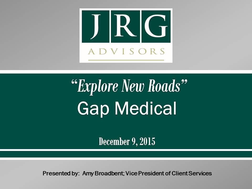 JRG Webinar Replay – Gap Insurance – 12-09-15