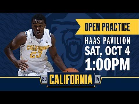 Cal Men's Basketball: Open Practice Haas Pavilion