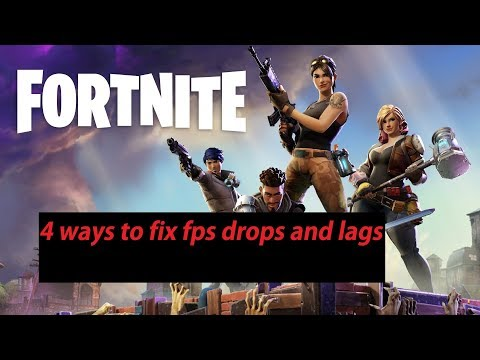 Fortnite : 4 ways to fix the FPS drops and lag